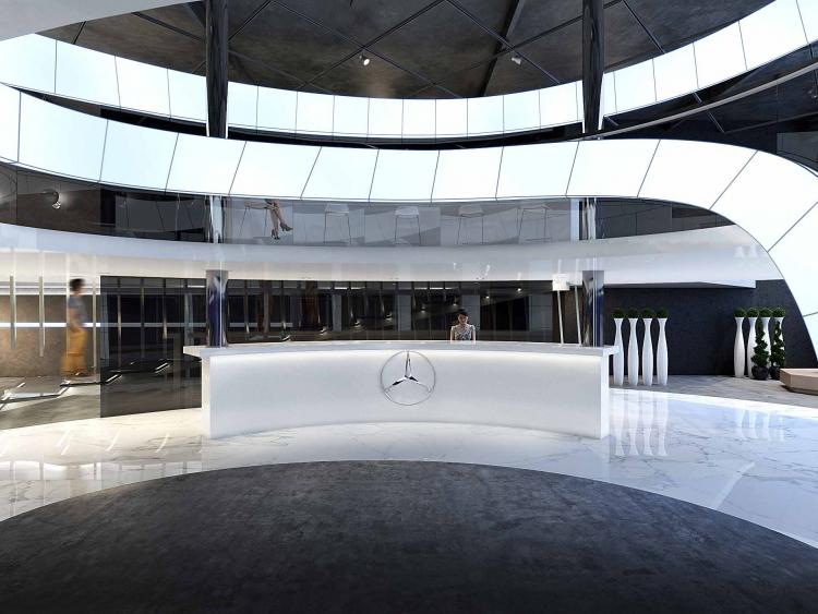 Автосалон Mercedes-Benz