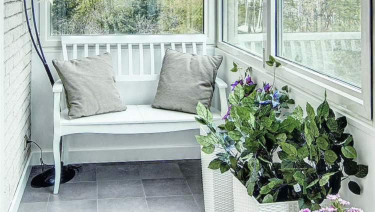 homify: Дизайн для маленького балкона